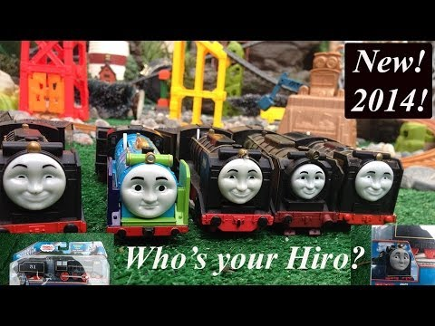 Newly Redesigned 2014 Thomas and Friends Tale of the Brave Trackmaster Hiro!
