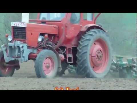 [2012] Gyönk Tavaszi Munkák Part 3 - Magágykészítés és Kukorica Vetés (FULL HD 1080p)