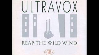 ULTRAVOX - Hosanna 1982 Reap the Wild Wind