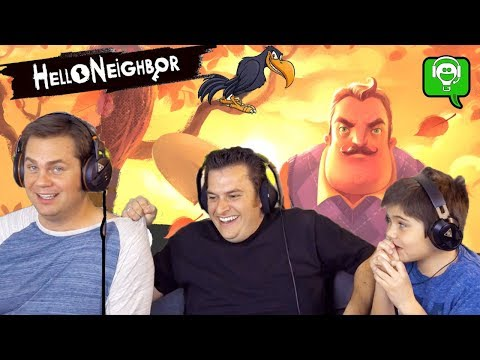 Over 60 Minutes Compilation! HELLO NEIGHBOR Video Game Play with HobbyGuy and HobbyFamily