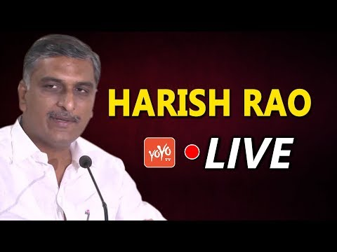 Harish Rao LIVE | Addressing the Public Gathering from Mandapalli | Siddipet | YOYO TV Channel