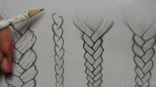 How to Draw Hair: Braids
