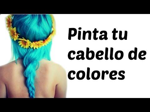 PINTA TU CABELLO DE COLORES-MECHAS CALIFORNIANAS DE COLORES-OMBRE HAIR