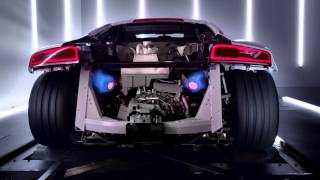 Audi R8 V10 - Engine Acceleration Dyno 2014