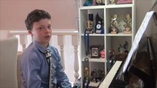 Frankie's AMEB Grade 6 Piano Exam