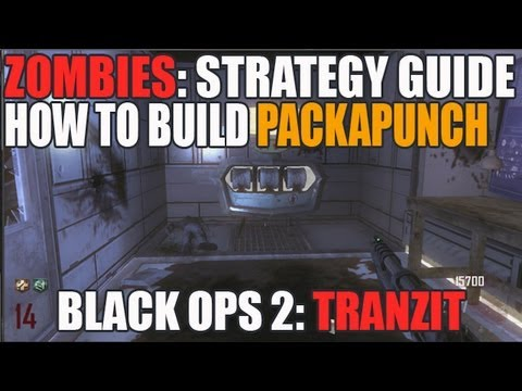 Tranzit: How To Build Pack A Punch In Solo! Tutorial for Pack A Punch Black Ops 2 Zombies (HD)