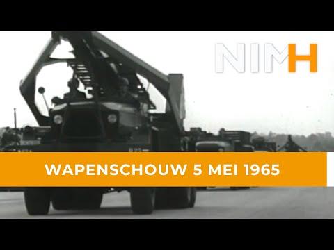 Wapenschouw 5 mei 1965