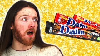 Irish People Taste Test Daim Candy