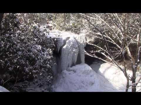 fayette county ohiopyle borough Winter Video from dale briggs footage
