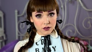 Melanie Martinez CryBaby make up tutorial