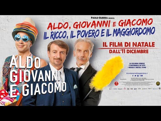 Il Ricco, il Povero e il Maggiordomo - Trailer | Aldo Giovanni e Giacomo