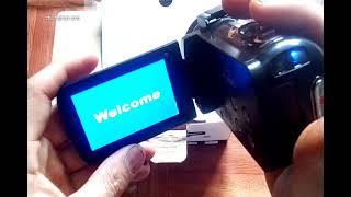 Đập hộp máy quay mini cầm tay giá dẻ