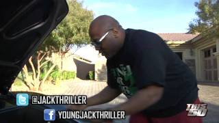 50 Cent Isn't The Only One Getting Money! Young Jack Thriller Puts A Few 100 In A Ferrari!