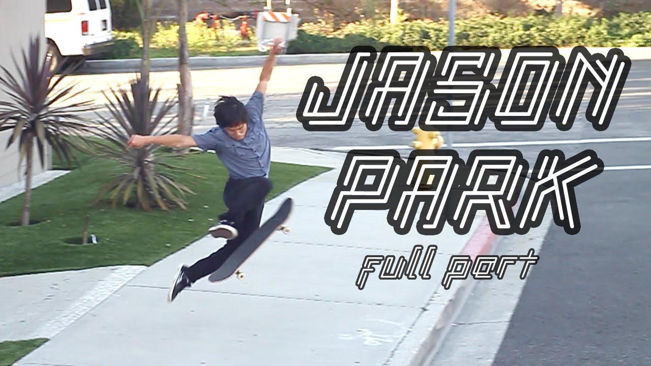 Jason Park et son skate créatif