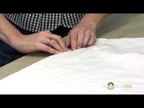 Sewing the Tablecloth