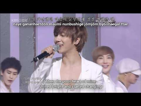 (en) [LIVE] Super Junior - No Other With Lyrics