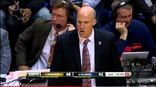 John Groce demonstrates excellent coach rage