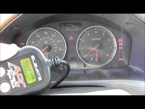 Volvo S40. Software Tune Installation