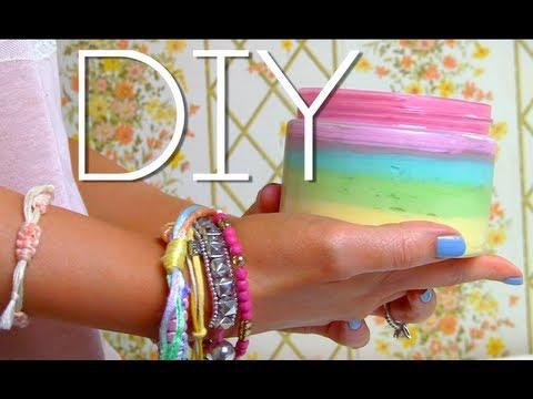 SkinME - Make Body Butter  Rainbow DIY
