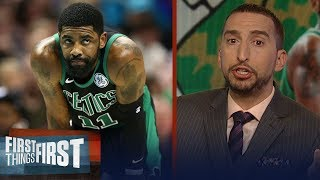 Celtics sweep Pacers, Nick Wright doubts Boston can challenge Milwaukee | NBA | FIRST THINGS FIRST