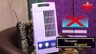 BMS Lifestyle TF-102 Portable Mini Oscillating Tower Fan With 90 Degree Rotating & Revolving Base