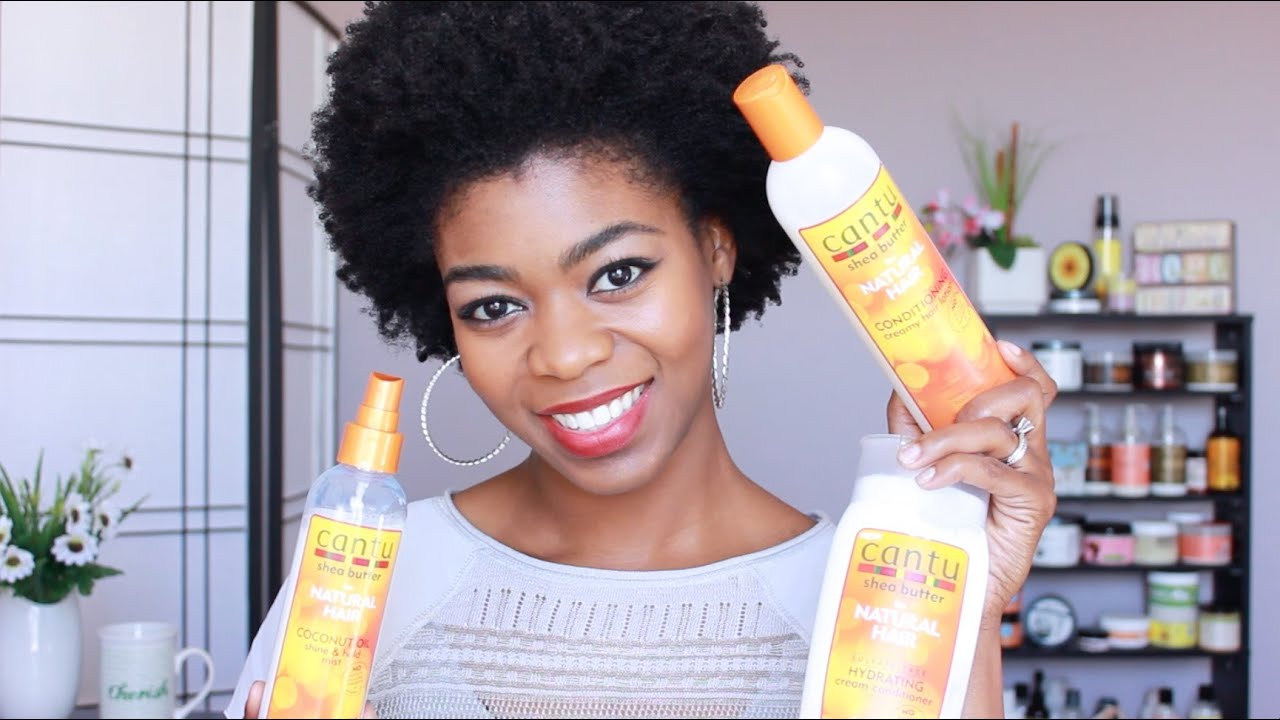 Cantu Shea Butter Review Conditioner Lotion Amp Mist