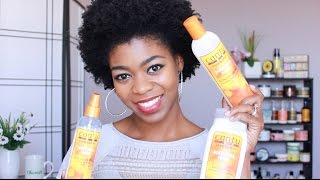 Cantu Shea Butter Review - Conditioner, Lotion, & Mist - 4C Natural Hair