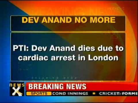 Bollywood actor Dev Anand passes away