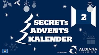 2. TÖRCHEN | SECRETs ADVENTSKALENDER | JULIAN POLLERSBECK