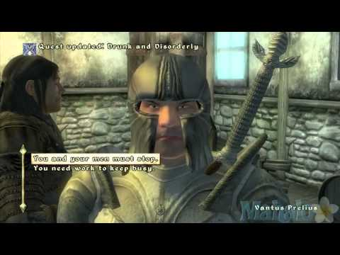 Elder Scrolls 4 Oblivion - Fighter's Guild Walkthrough 5 - Drunk and Disorderly