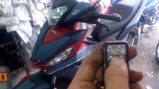 Khóa chống trộm xe máy thông minh - rẻ - chất lượng - uy tín