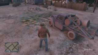 "GTA V l Online l Secret Rare ""Rat Loader"" Car Location #3/5"