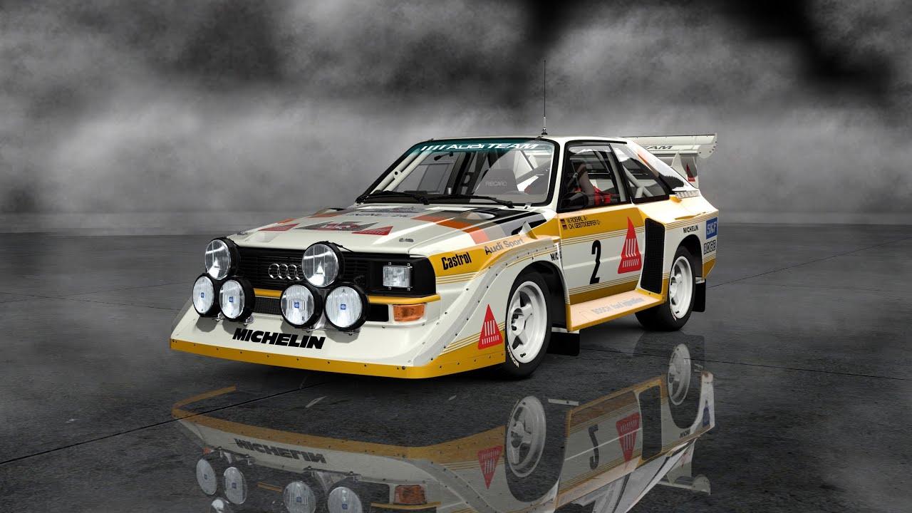Audi Quattro S1 Tribute Of A Legend Pure Engine Sound Hd
