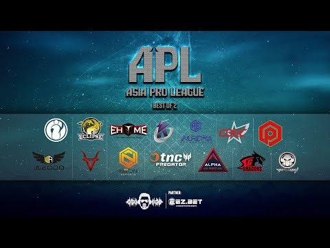 [DOTA 2 LIVE PH] TnC Predator VS CDEC |Bo2|  Asia Pro League