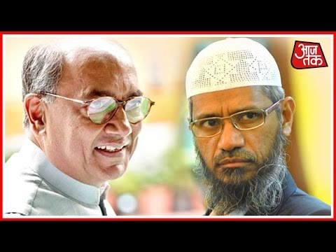 Digvijay Singh Defends Himself Against Allegations Of Sharing Stage With Zakir Naik