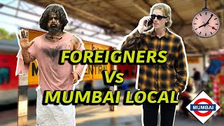 Foreigner's Life In Mumbai Local