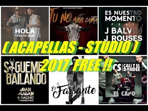DESCARGA PACK DE ACAPELLAS URBANAS | 2017 | GRATIS