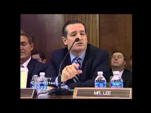 Sen. Ted Cruz at Loretta Lynch Nomination Hearing