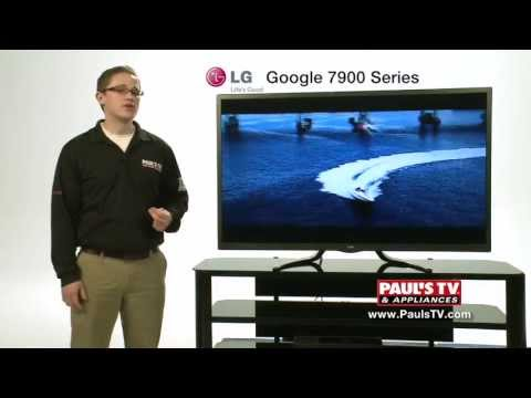 Paul's Preview: LG GA7900 Google LED TV