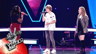 Karry, Billy & Lisa - 'Ain't Nobody' | The Battles | The Voice Kids | VTM
