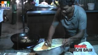 MIRCHI BAJJI - GOA STREET FOOD - WORLD STREET FOOD