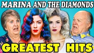 Download Lagu ELDERS READ MARINA AND THE DIAMOND'S HIT SONGS (React) Gratis STAFABAND