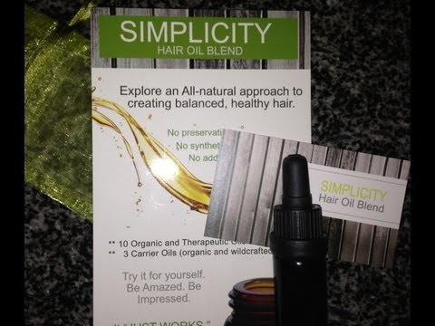 Simplicity Hair Oil Blend Review