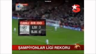ŞAMPİYONLAR LİGİNDE TV'DE İLK KEZ BÖLE REKOR KIRILDI...