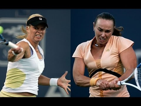 Martina Hingis vs Kim Clijsters 2006 Acura Classic Highlights