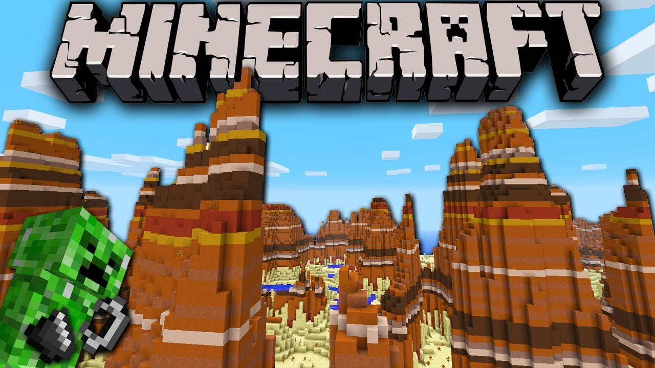 Minecraft 1.7 Biomes Mesa Minecraft 1.7 Snapshot Mesa