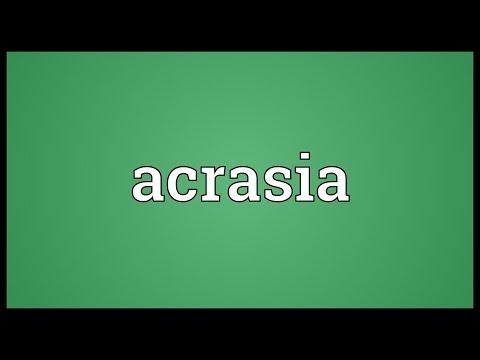 Header of Acrasia