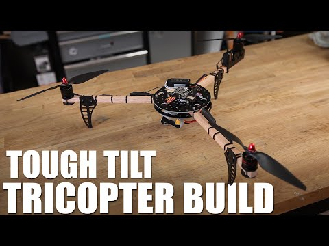 Flite Test   Tough Tilt Tricopter Build