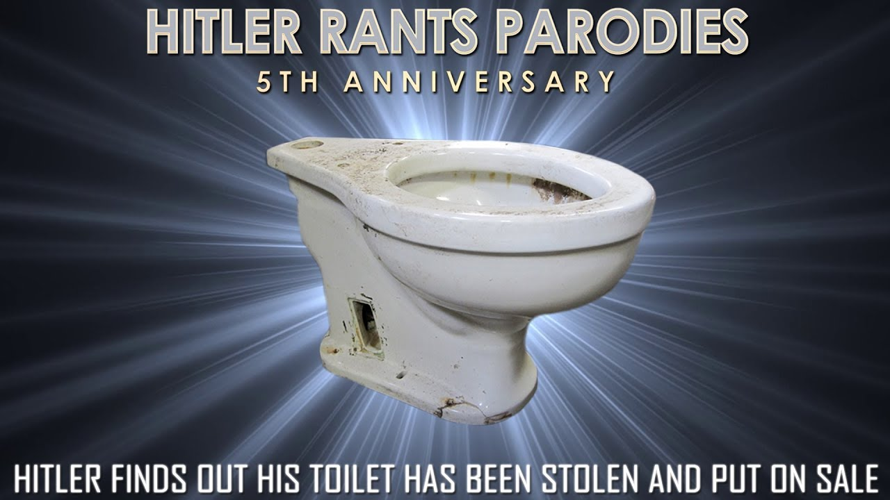 Hitler finds out his toilet has been stolen and put on sale