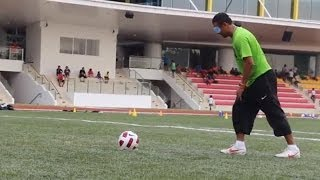 Blindfold Penalty Shootout with Fandi Ahmad